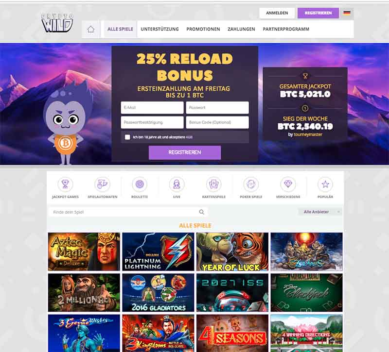 kryptowild casino webseite