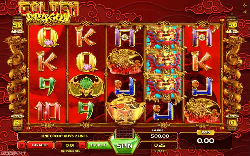 golden dragon slot